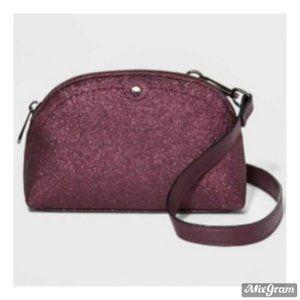 A New Day Glitter Waist Bag Converts To Crossbody